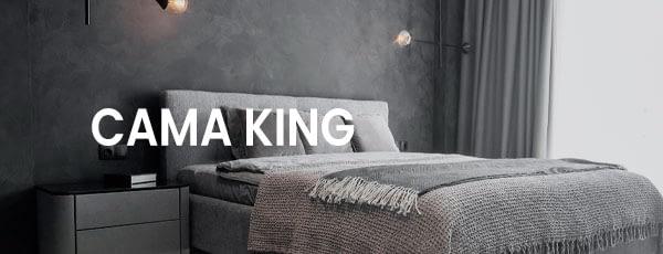 Cama King moda casa cama mesa e banho