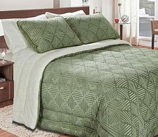 cobedrom plush cama de casal