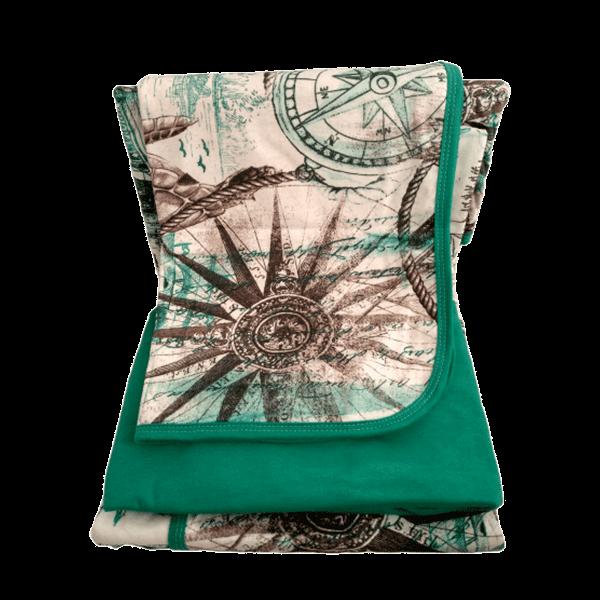 Jogo de lençol solteiro 3 peças verde marítimo